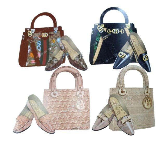 Paper Handbag and Shoe for Qing Ming Festival