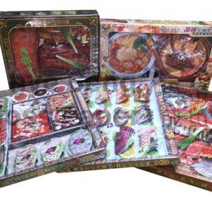 Premium Paper Food Set