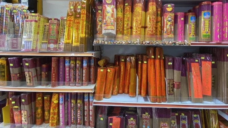 Joss Stick Collection at Chye Seng Joss Paper kimzua shop